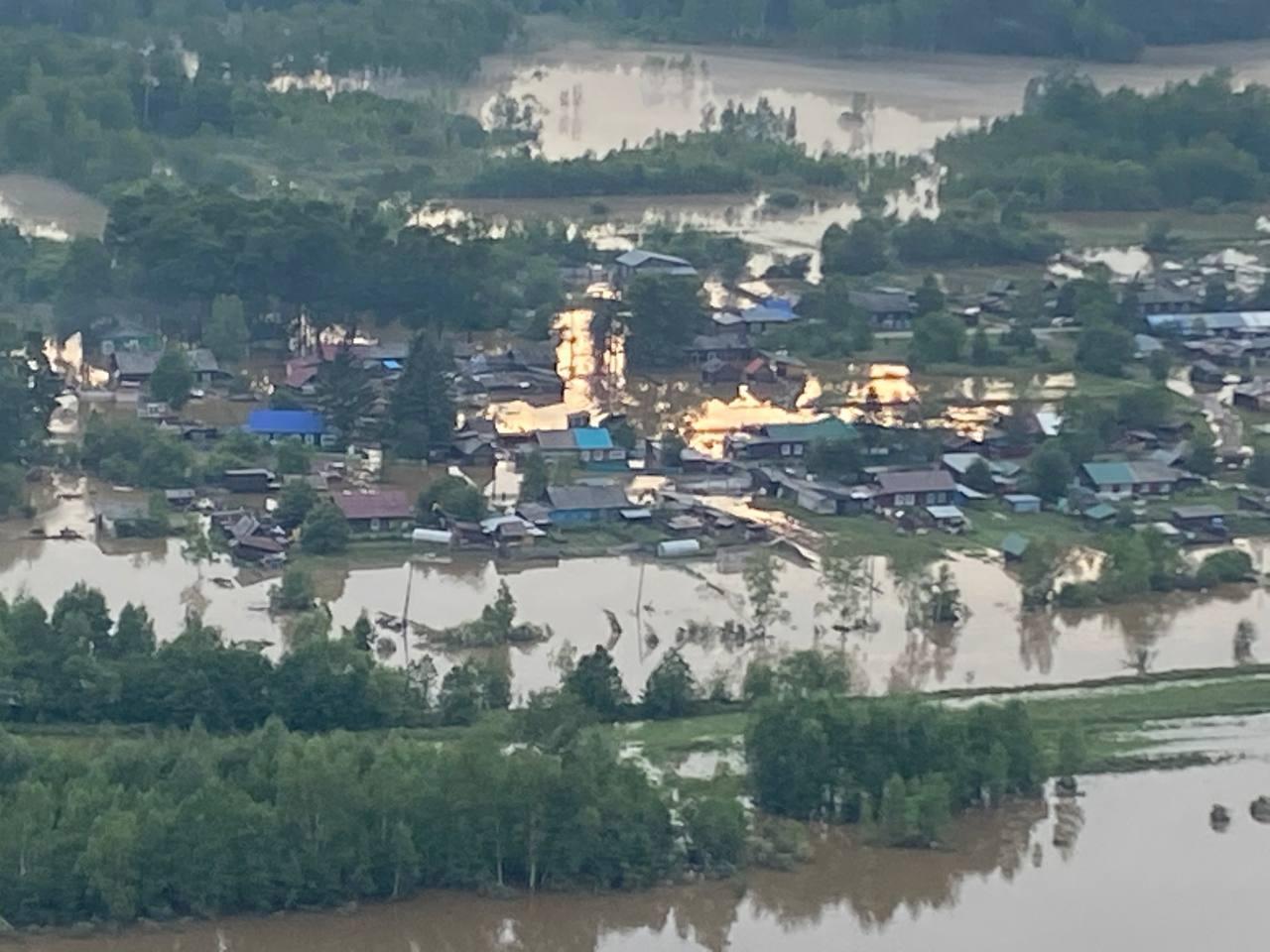 В Хабаровском крае из-за сильного паводка ввели режим ЧС, эвакуировано свыше 130 человек