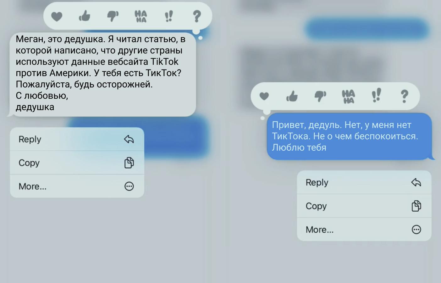 Кадры из видео © TikTok / meganelizabeth1016