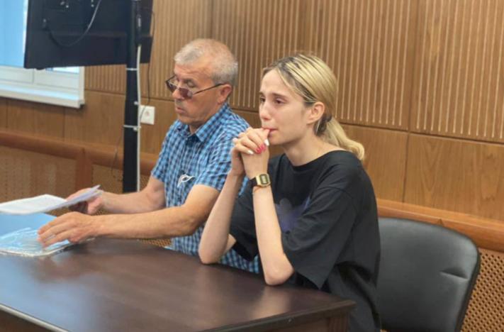 <p>Обвиняемая Валерия Башкирова. </p><p>Фото © Пресс-служба Тверского районного суда Москвы</p>