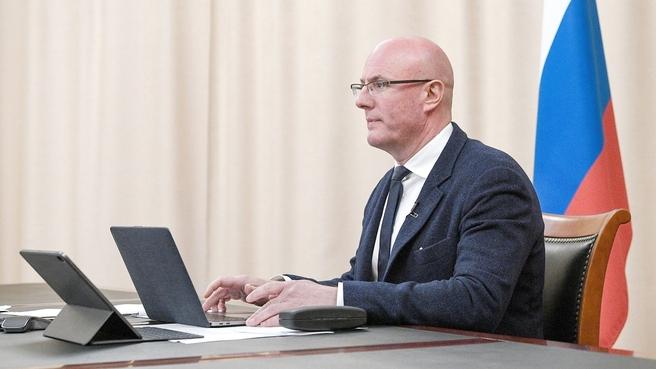 <p>Дмитрий Чернышенко. Фото © Пресс-служба Правительства РФ</p>