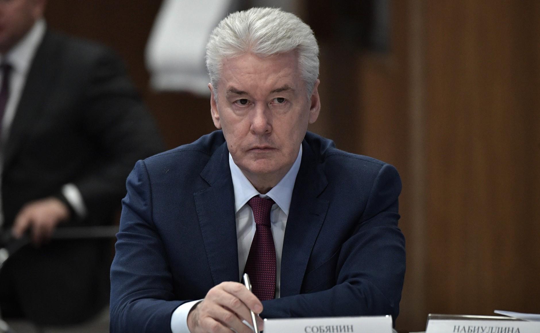 <p>Сергей Собянин. Фото © Пресс-служба Президента РФ</p>