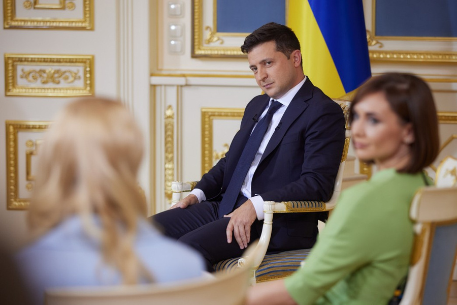 <p>Фото © Пресс-служба президента Украины</p>