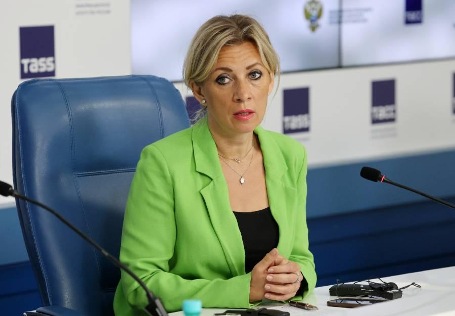 <p>Мария Захарова. Фото © ТАСС / Владимир Гердо</p>