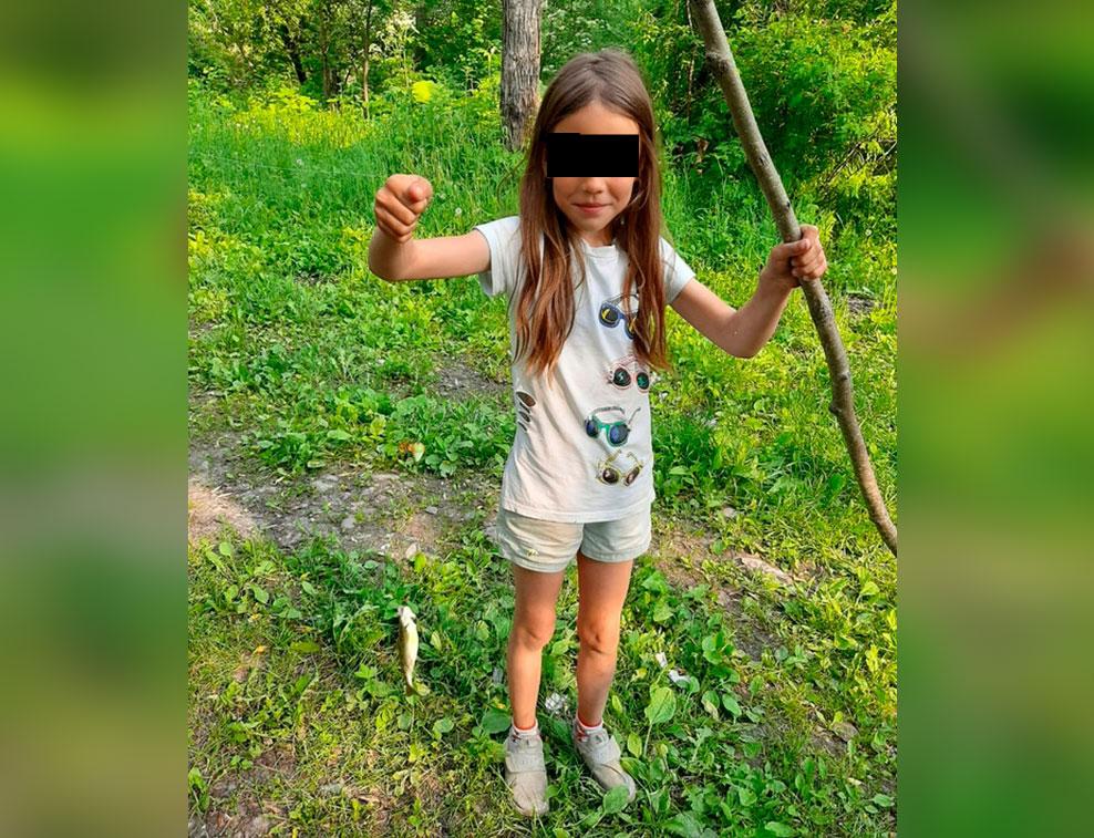 Убитая девочка. Фото © Из личного архива семьи