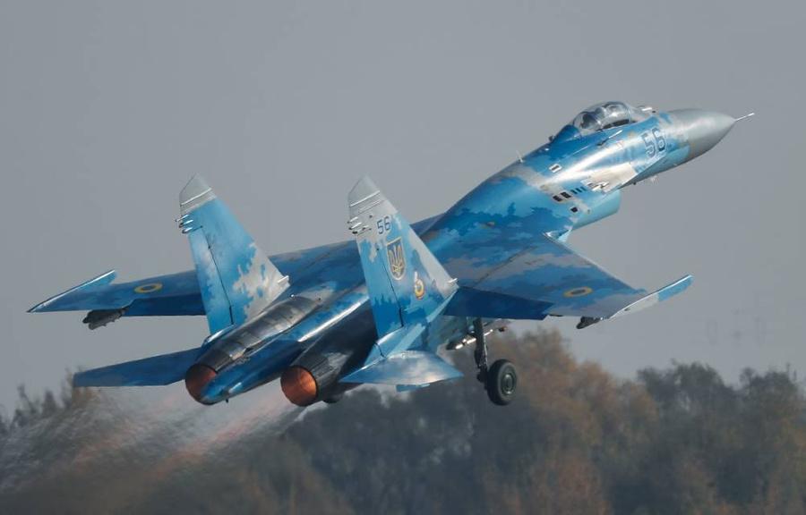 <p>Истребитель Су-27. Фото © ТАСС / ЕРА</p>