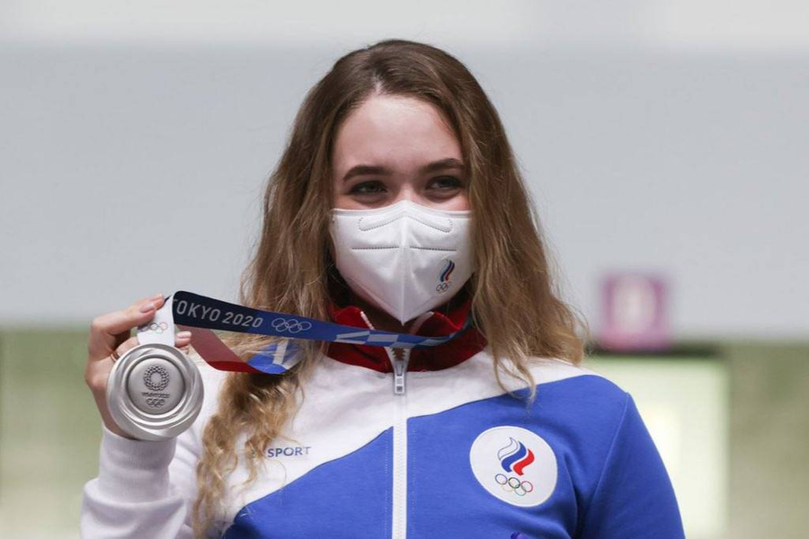 """<p>Анастасия Галашина. Фото © Twitter / <a href=""""https://twitter.com/Olympic_Russia/status/1418775912896679943/photo/1"""" target=""""_blank"""" rel=""""noopener noreferrer"""">Olympic_Russia</a></p>"""