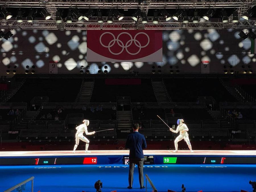 <p>Фото © Telegram / Олимпийский комитет России</p>