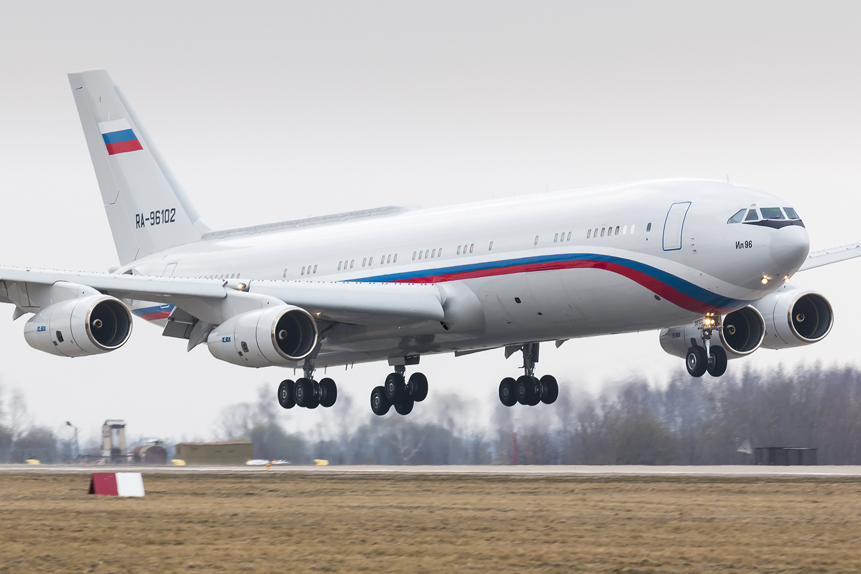 Ил-96-400М. Фото © Wikipedia / Dmitry Terekhov