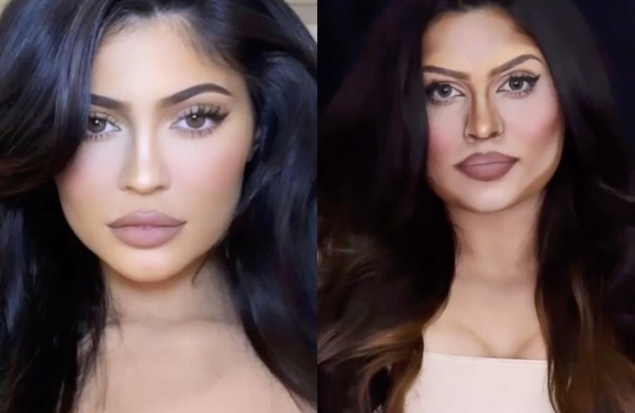 Кадр из видео © Instagram/makeupbypriyankapanwar