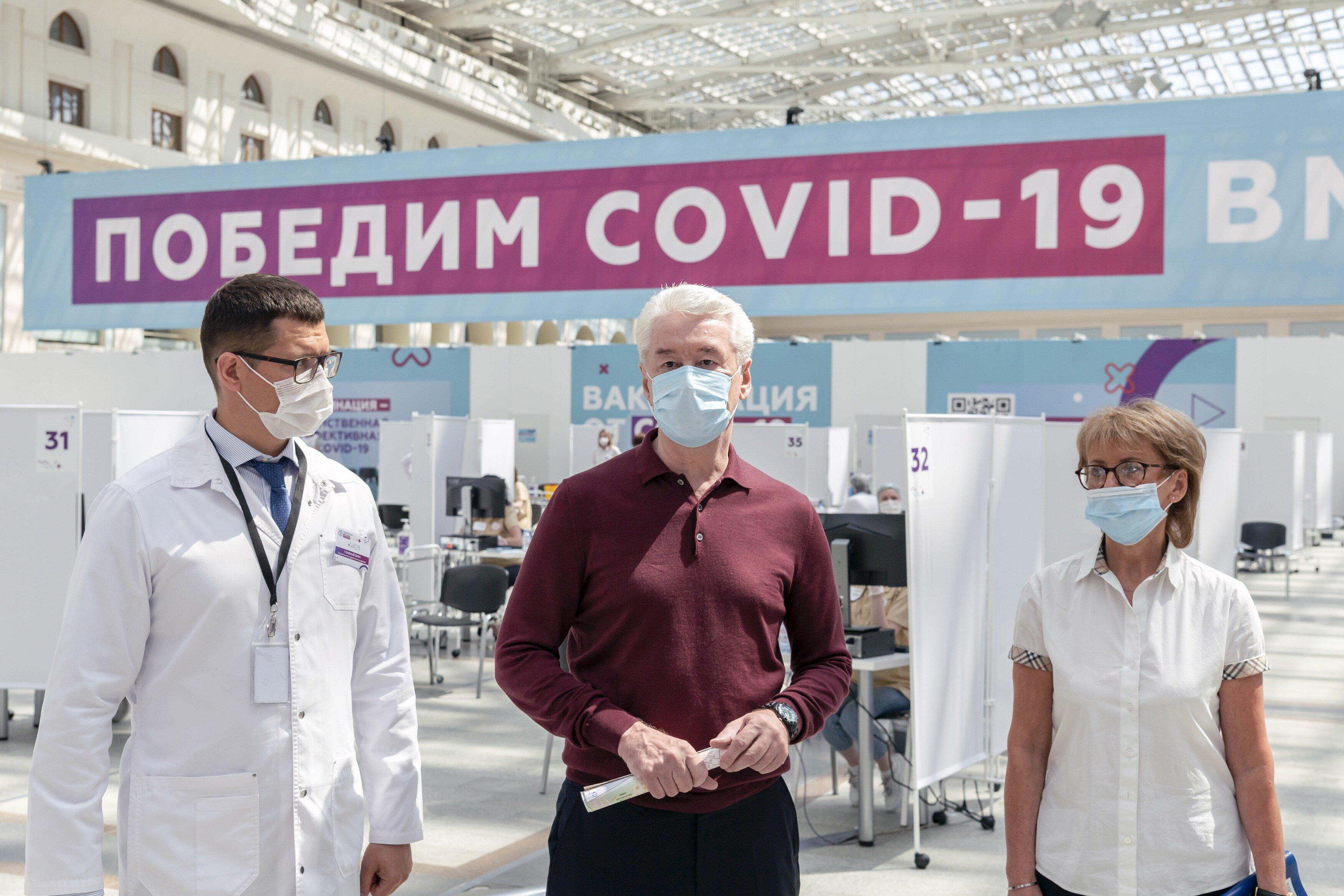 Собянин: Рост заболеваемости коронавирусом в Москве составляет 2030% в неделю