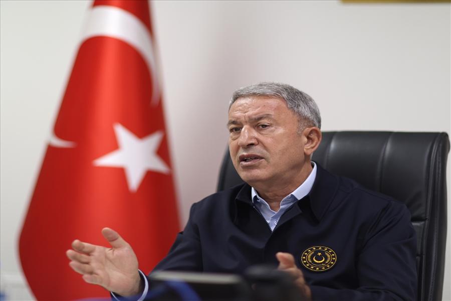 <p>Министр обороны Турции Хулуси Акар. Фото © Минобороны Турции</p>
