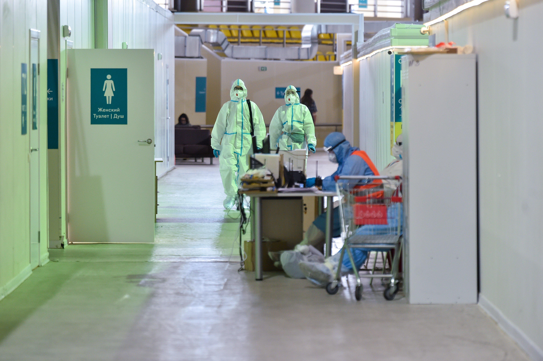 В России за сутки выявили 18 891 случай заражения коронавирусом