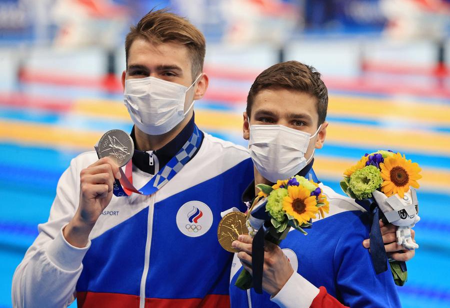 <p>Климент Колесников и Евгений Рылов. Фото © Сергей Бобылев / ТАСС</p>