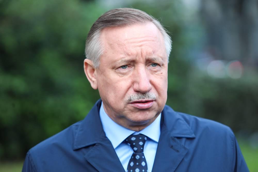Беглов рассказал о развитии транспортной системы Санкт-Петербурга