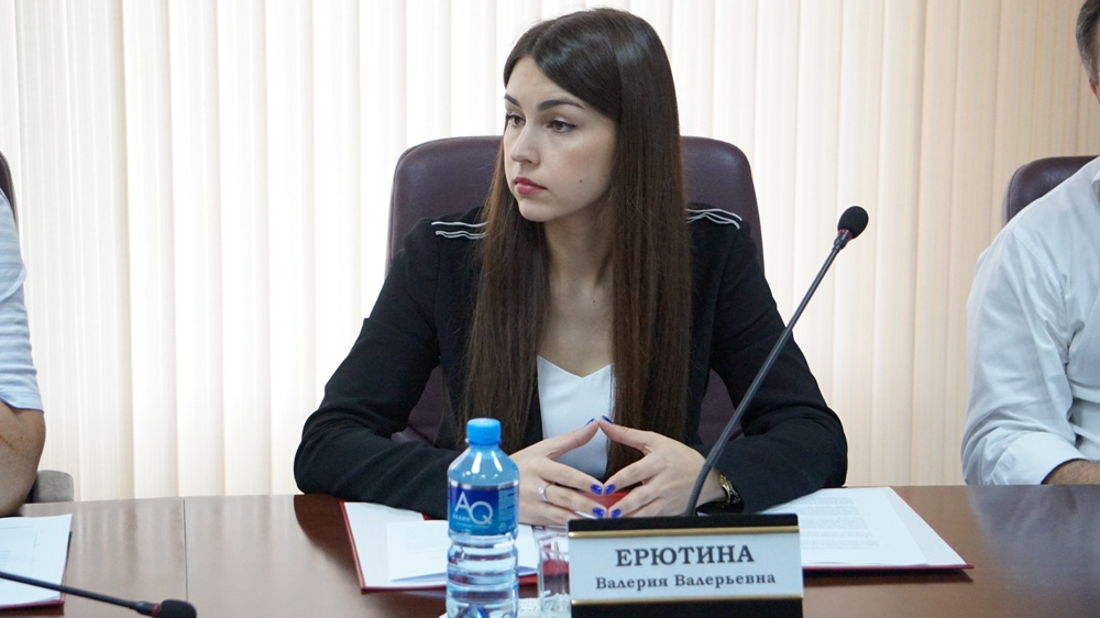 """Валерия Ерютина. Фото © """"Вестник избирательной комиссии Краснодарского края"""""""