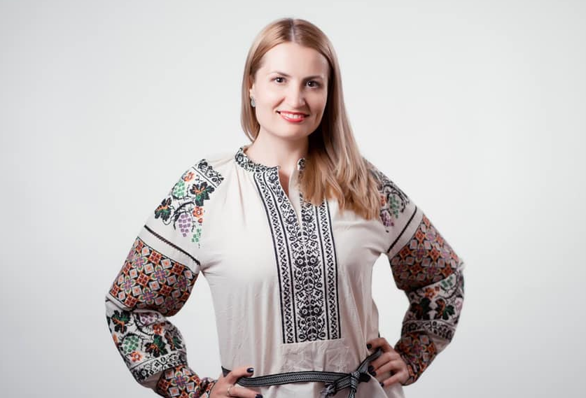 Депутат Ольга Стефанишина. Фото © Facebook / Ольга Стефанишина