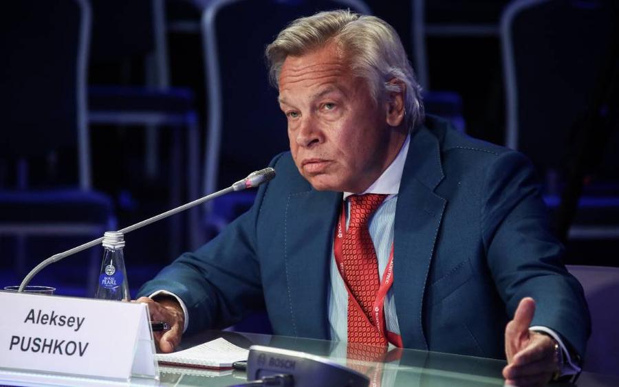 <p>Алексей Пушков. Фото © ТАСС / Валерий Шарифулин</p>