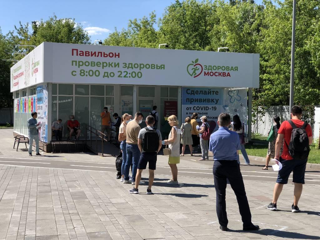 В августе павильоны Здоровая Москва вновь начнут принимать пациентов на диспансеризацию