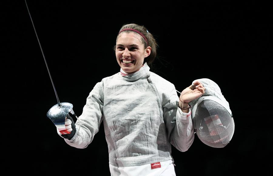 <p>София Позднякова. Фото © ТАСС / Валерий Шарифулин</p>