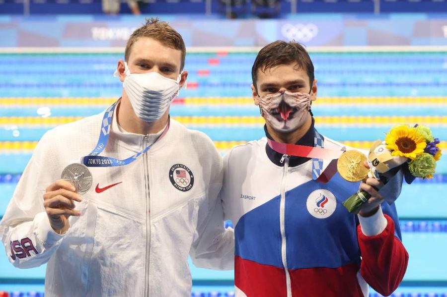 <p>Райан Мёрфи, Евгений Рылов (слева направо). Фото © ТАСС / Станислав Красильников</p>