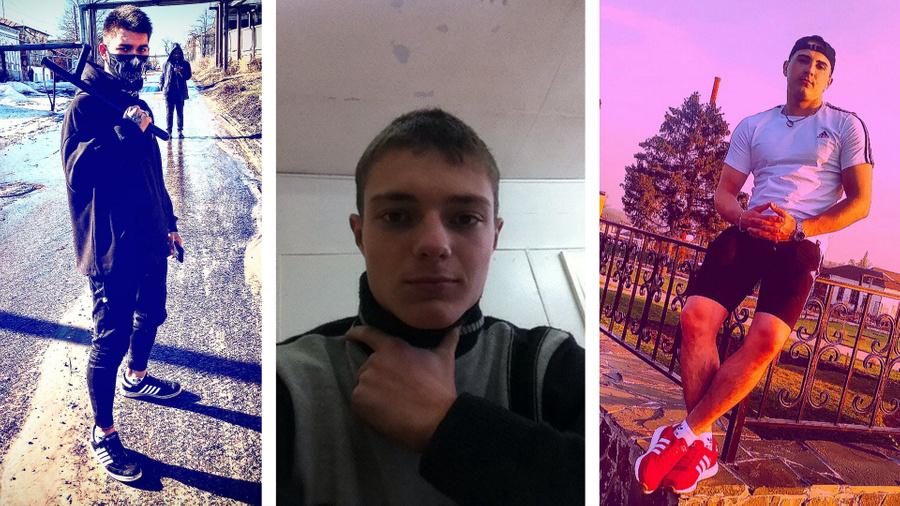 <p>Слева направо: Бахудур Раджабов, Даниил Хромов, Илья Топильский. Фото © Соцсети</p>