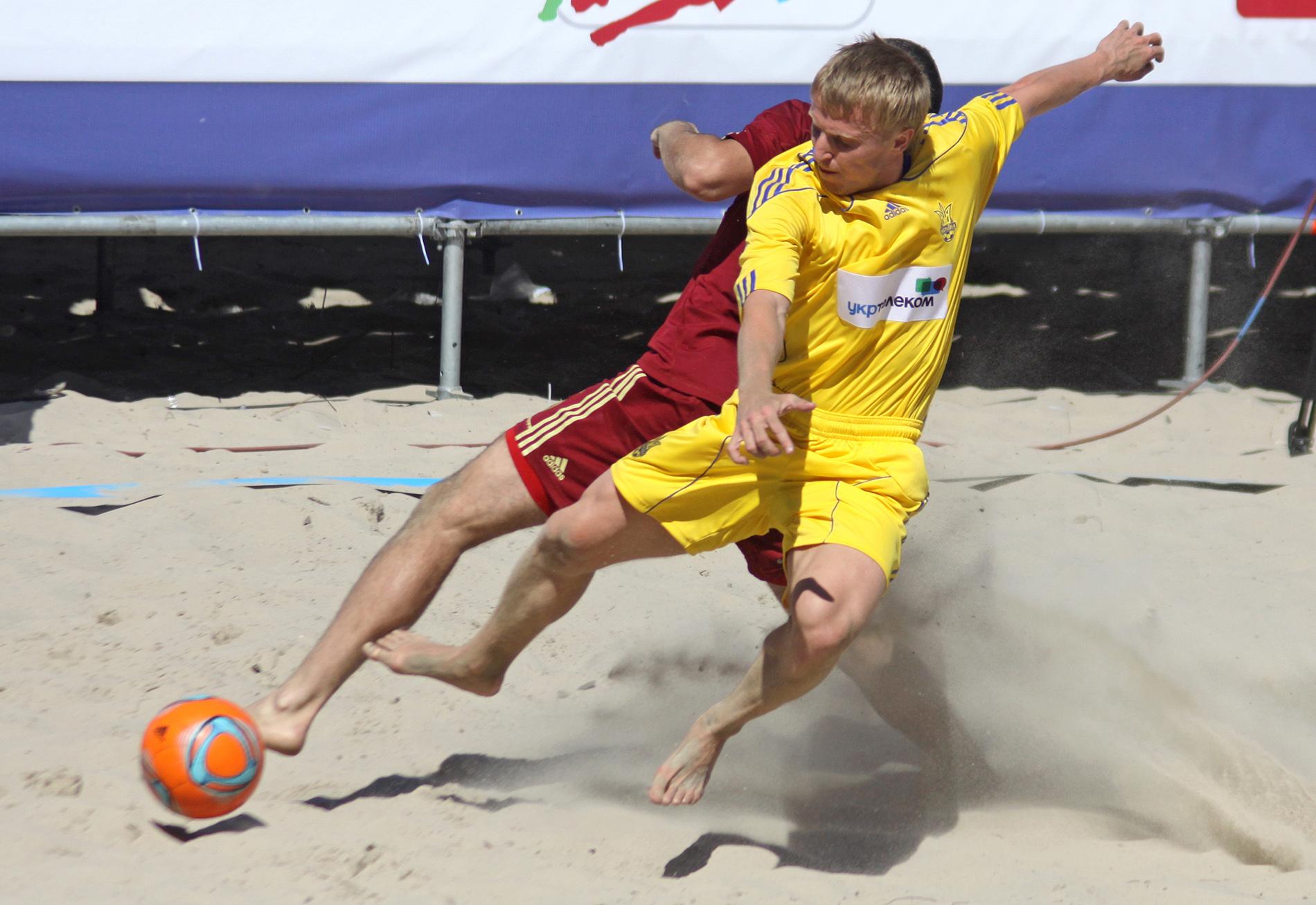 СМИ: Сборной Украины по пляжному футболу запретили ехать в Москву на чемпионат мира