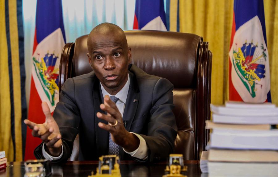 "<p>Президент Гаити Жовенель Моиз. Фото © Twitter / <a href=""https://twitter.com/tariqnasheed"" target=""_blank"" rel=""noopener noreferrer"">Tariq Nashee</a></p>"