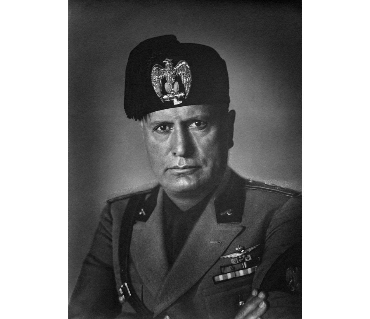 Дуче фашизма Бенито Муссолини. Фото © wikipedia