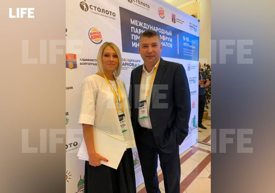 <p>Супруги Екатерина Колесникова и Алексей Чибин. Фото © LIFE</p>