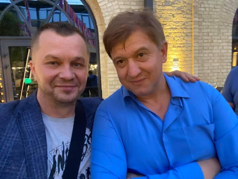Экс-секретарь СНБО Украины подрался с советником главы офиса Зеленского