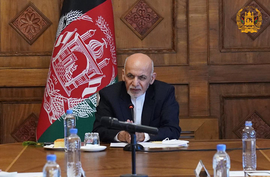 <p>Президент Афганистана Ашраф Гани. Фото © Office of the President of Afghanistan</p>