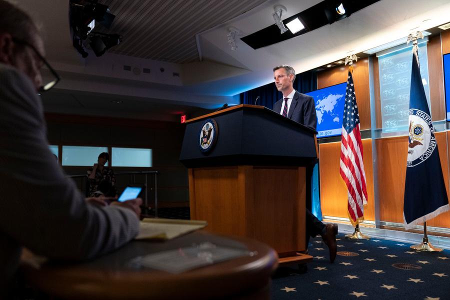 <p>Нед Прайс. Фото © ТАСС / AP</p>