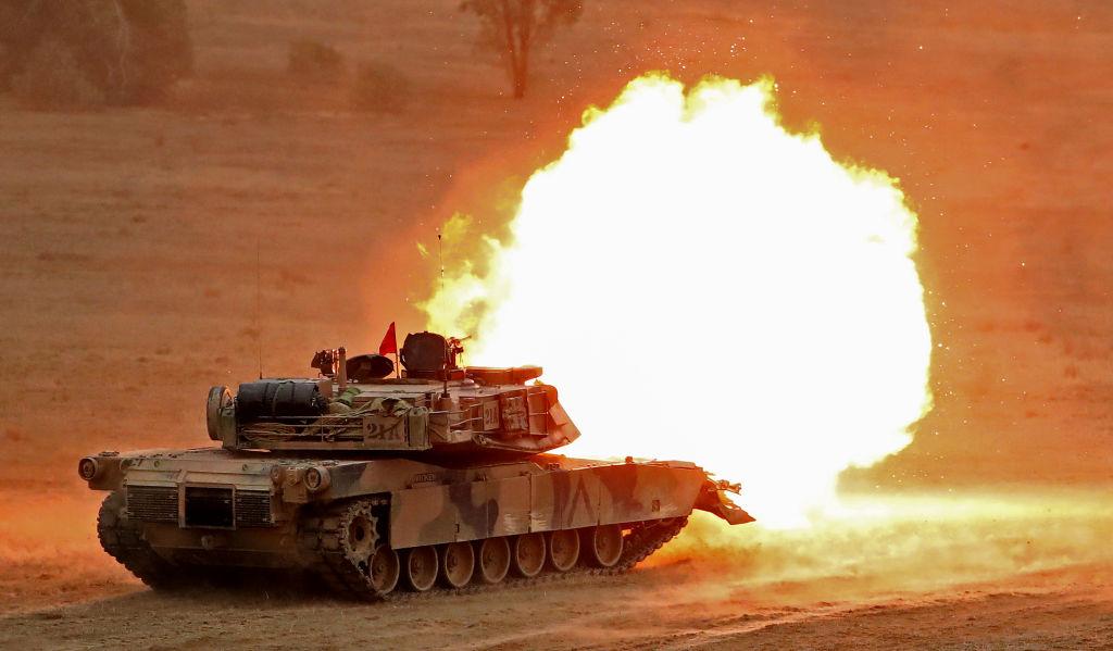 M1A1 Abrams. Фото © Getty Images / Scott Barbour