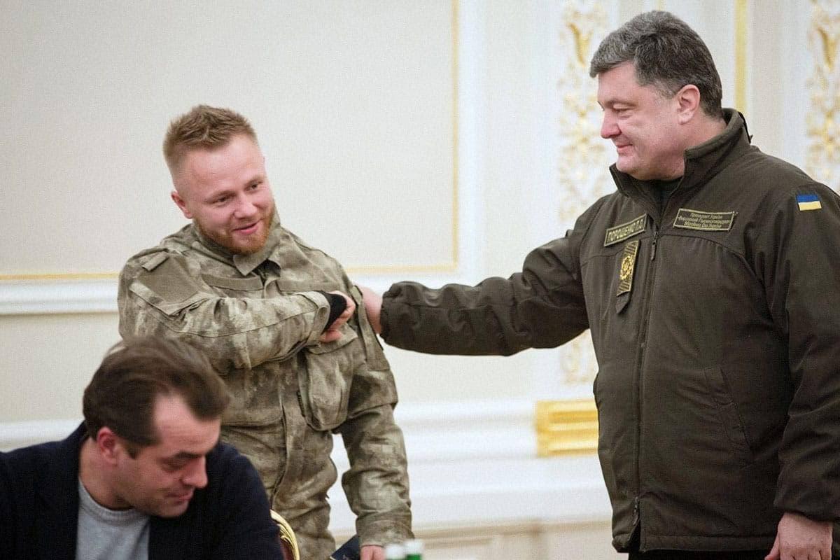 Бывший президент Украины Пётр Порошенко дал Малюте украинское гражданство. Фото © President.gov.ua