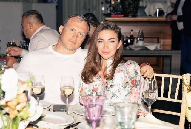 Блиновская с мужем Алексеем. Фото ©Instagram.com / elena_blinovskaya