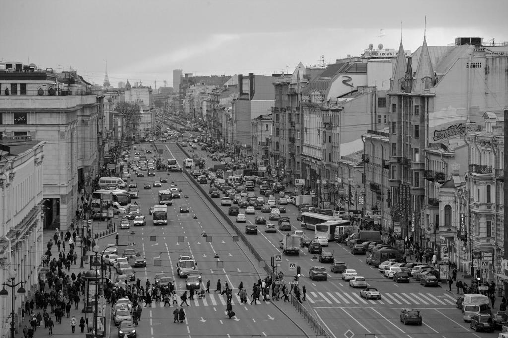 Лиговский проспект в 2014-м. Фото © ТАСС / Антон Ваганов