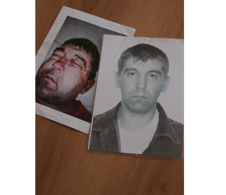 Покойный Андрей Петроченко: до избиения и после. Фото © LIFE