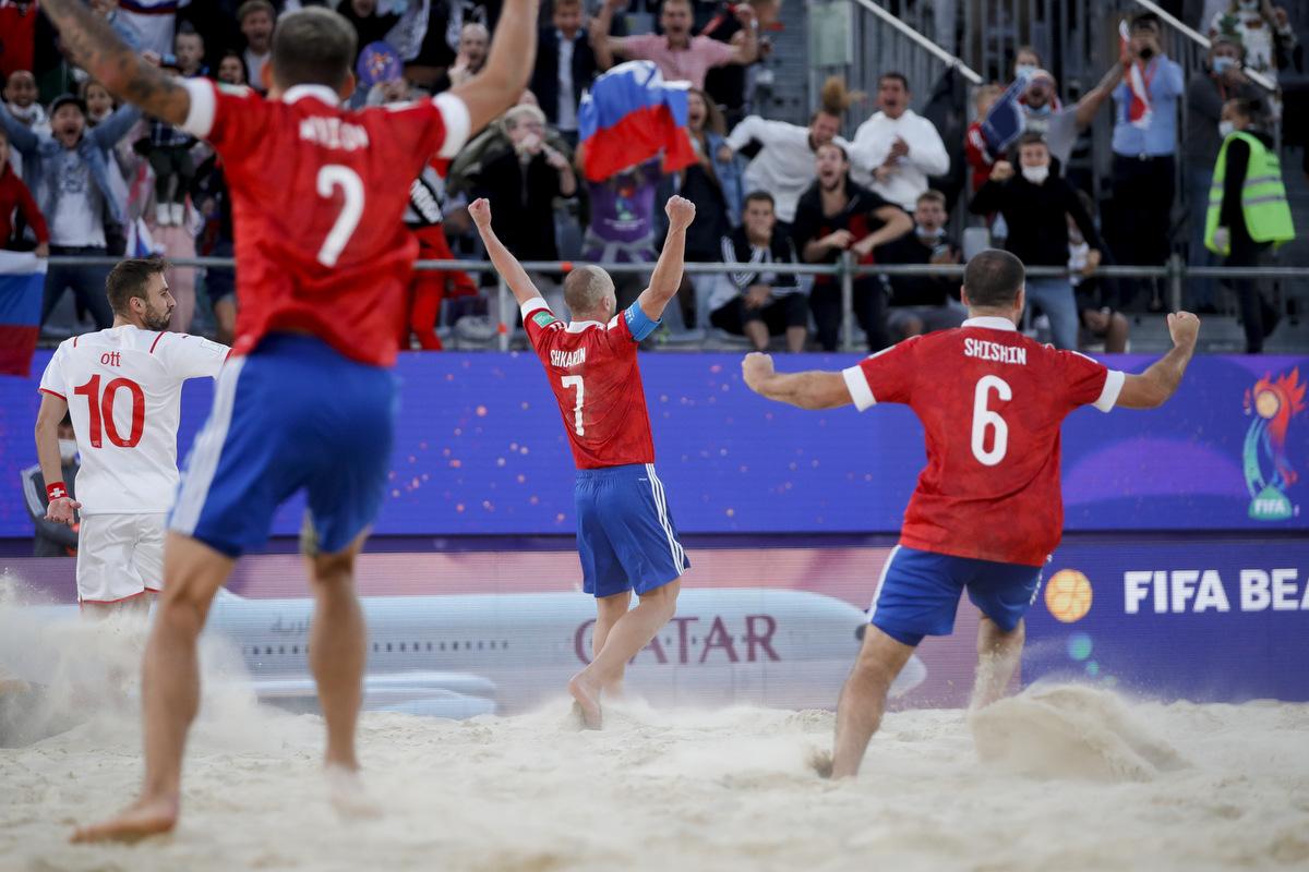 Наши красавцы : Сборная России по пляжному футболу выиграла чемпионат мира в Москве