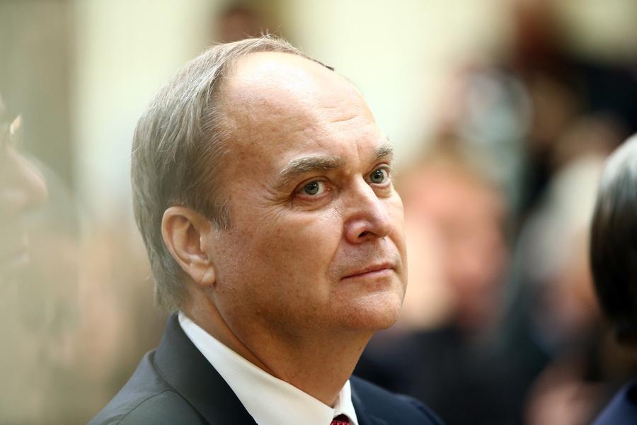 <p>Посол РФ в США Анатолий Антонов. Фото © Валерий Шарифулин / ТАСС</p>