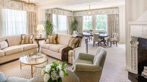 Номера люкс в отеле Hay-Adams, где остановился Зеленский. Фото ©vesti.ua