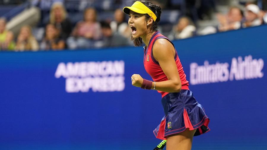 <p>Эмма Радукану. Фото © US Open</p>