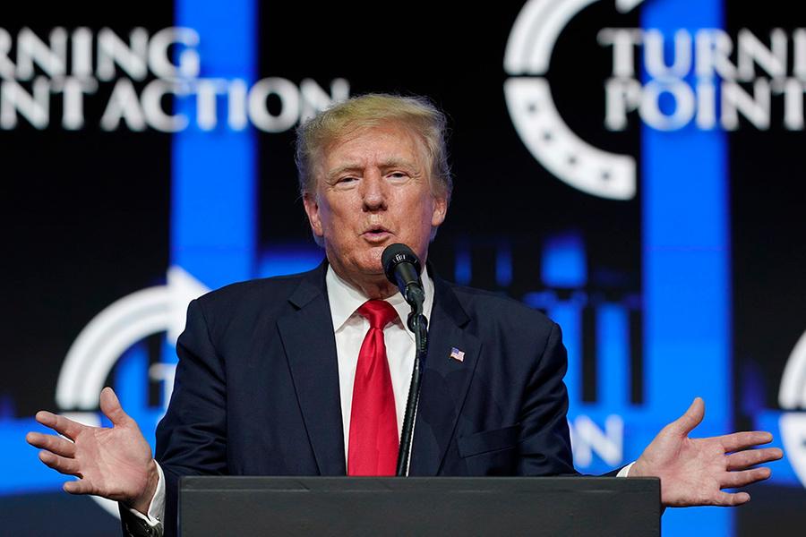 <p>Дональд Трамп. Фото © ТАСС / АР / Ross D. Franklin</p>