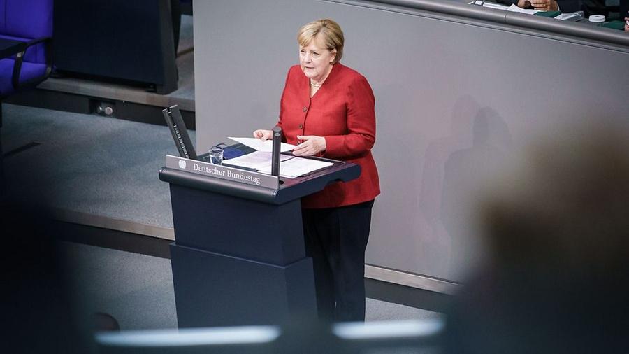 <p>Ангела Меркель. Фото © Сайт Правительства Германии</p>