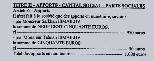 Сархан и Тельман Исмаиловы — владельцы французской компании S.C.I. Nahras.  Фото © entreprises.lefigaro.fr