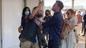 Бен Аффлек оттолкнул стремительно надвигавшегося на Лопес фаната в аэропорту. Фото © awsforwp.com
