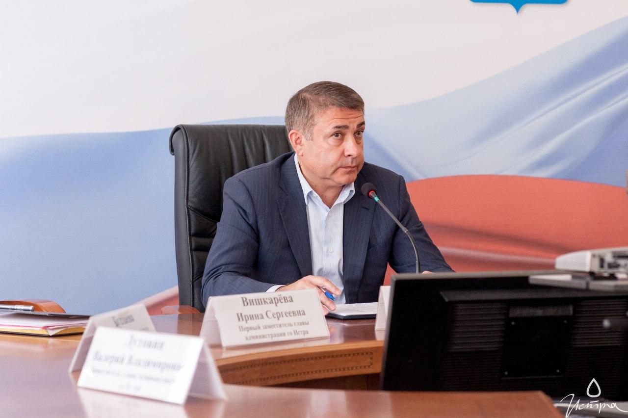 Мэр Андрей Вихарев. Фото © facebook / Андрей Вихарев