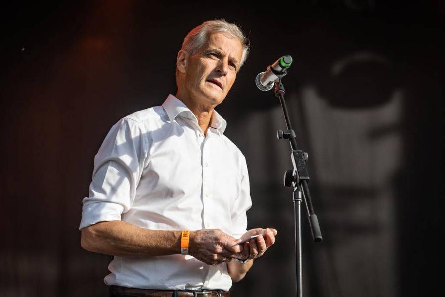 <p>Лидер Рабочей партии Йонас Гар Стёре. Фото © Getty Images / Per Ole Hagen</p>