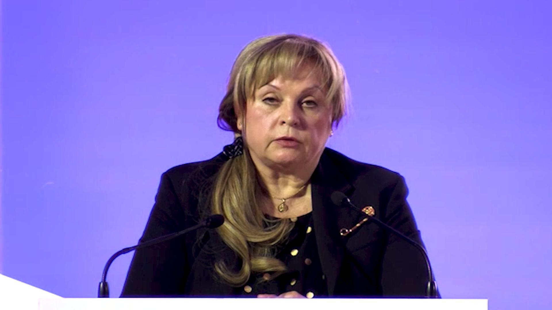 Памфилова сообщила о тотальной системе видеонаблюдения за голосованием на выборах
