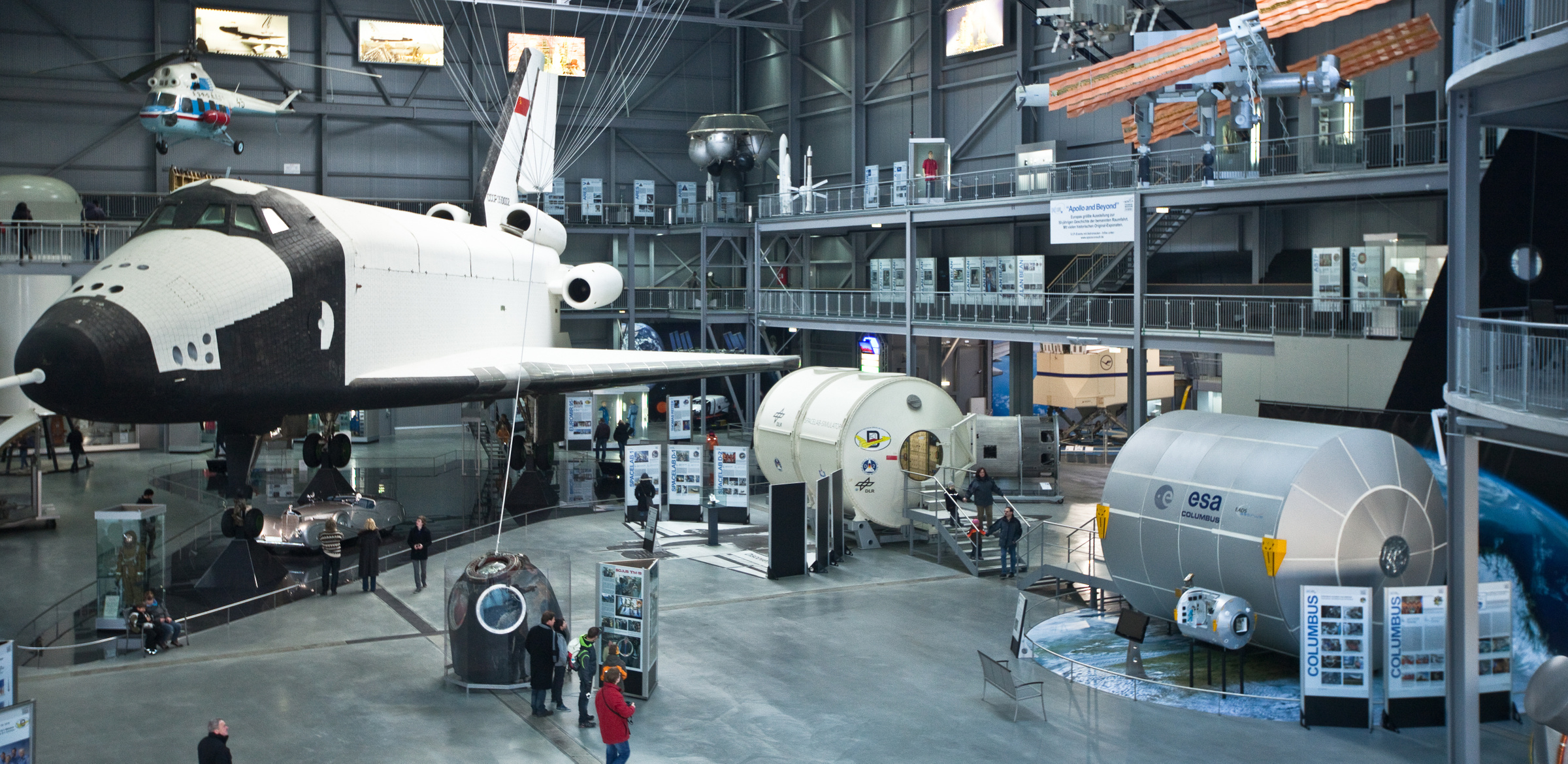 "Самолёт – аналог ""Бурана"" в Музее техники в Шпайере. Фото ©Музей техники в Шпайере"