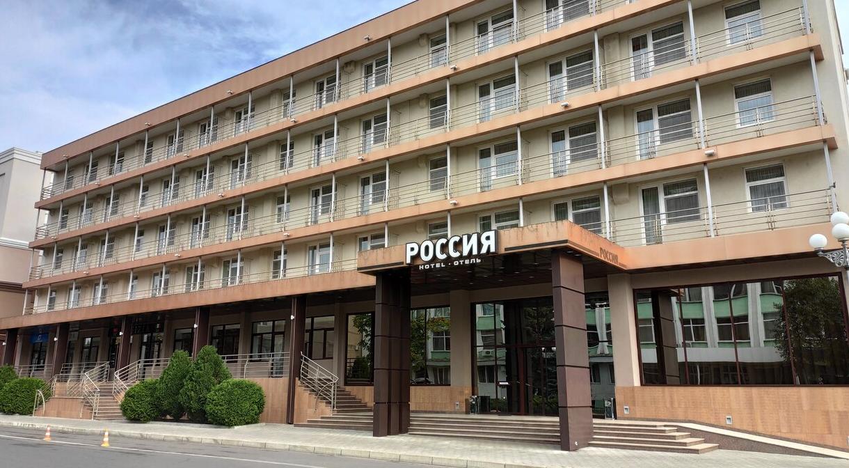 Украинский клуб остановился в гостинице «Россия» перед матчем Лиги чемпионов